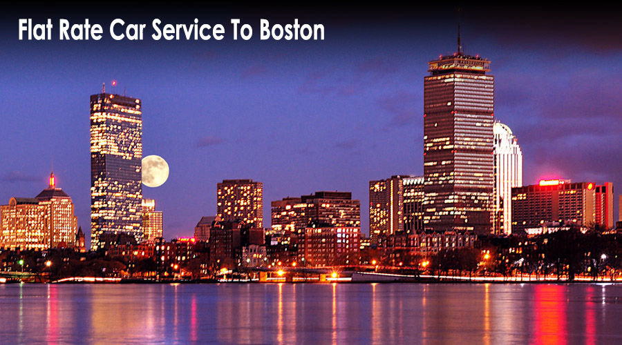flat rate car service to boston